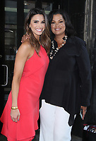 NEW YORK, NY - AUGUST 10: Jennifer Lahmers, Sukanya Krishnan seen after hosting at Good Day NY in New York City on August 10, 2018. Credit: RW/MediaPunch