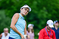 Lexi Thompson (USA) watches her tee shot on 2 during Friday's round 2 of the 2017 KPMG Women's PGA Championship, at Olympia Fields Country Club, Olympia Fields, Illinois. 6/30/2017.<br /> Picture: Golffile | Ken Murray<br /> <br /> <br /> All photo usage must carry mandatory copyright credit (&copy; Golffile | Ken Murray)