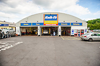 Tuesday  17  June  2014<br /> <br /> Pictured: Kwik Fit, Carmarthen<br /> Re: General Views of the Kwik-Fit Branch on Carmarthen, West Wales
