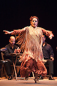 LONDON, ENGLAND - Ballet Flamenco Eva Yerbabuena at Sadler's Wells Flamenco Festival, Eva Yerbabuena dancing