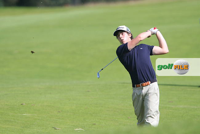Pep Angles (Spain) at the International European Amateur Championship 2012 at Carton House, 10/8/12...(Photo credit should read Jenny Matthews/Golffile)...