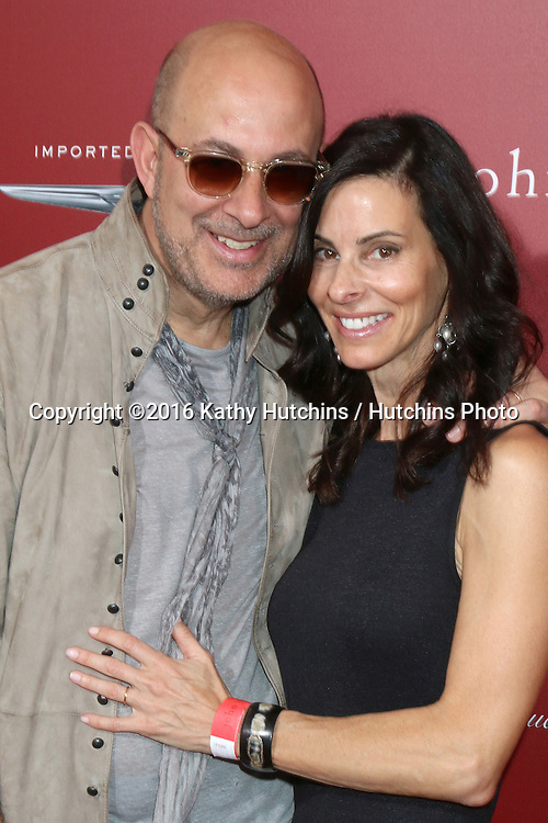 LAS VEGAS - APR 17:  John Varvatos, Joyce Varvatos at the John Varvatos 13th Annual Stuart House Benefit at the John Varvatos Store on April 17, 2016 in West Hollywood, CA