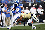 Running back Benny Snell Jr. #26 of the Kentucky Wildcats runs downfield during the first half of the TaxSlayer Bowl against the Georgia Tech Yellow Jackets at EverBank Field on Saturday, December 31, 2016 in Jacksonville, Florida. Photo by Michael Reaves | Staff.