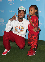 LOS ANGELES, CA - AUGUST 10: Tyga, King Cairo Stevenson, at the Netflix Series Premiere Of True And The Rainbow Kingdom at the Pacific Theatres at The Grove in Los Angeles, California on August 10, 2017. <br /> CAP/MPI/FS<br /> &copy;FS/MPI/Capital Pictures