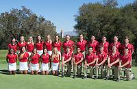 092613 Women's Golf Portraits, Team Photo, Pre-Season Action