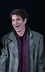 Andrew Garfield during the 'Angels in America' Broadway Opening Night Curtain Call Bows at the Neil Simon Theatre on March 25, 2018 in New York City.