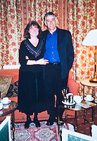 BNPS.co.uk (01202 558833)<br /> Pic: PhilYeomans/BNPS<br /> <br /> John with wife Sally.<br /> <br /> Married John Tressider got the needle when he lost his wedding ring in a giant haystack - only to find it two weeks later using a metal detector.<br /> <br /> John, 68, from East Budleigh, Devon, had been helping out on his auntie's farm and was moving 200 large bales of straw when he noticed his gold Celtic band had come off his finger.<br /> <br /> After two separate 'needle in a haystack' searches for it he borrowed a friend's metal detector and finally found it close to the bottom of the 20ft tall stack.
