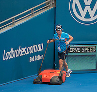 Ambience<br /> <br /> Tennis - Brisbane International 2015 - ATP 250 - WTA -  Queensland Tennis Centre - Brisbane - Queensland - Australia  - 6 January 2015. <br /> &copy; Tennis Photo Network