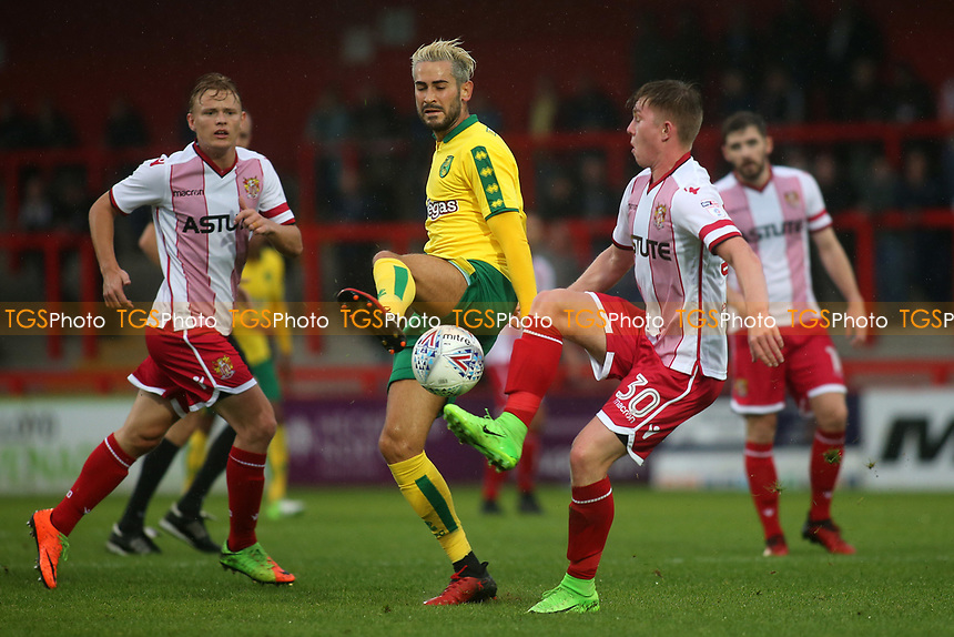 Mark Mckee of Stevenage in action during Stevenage vs Norwich City, Friendly Match Football at the Lamex Stadium on 11th July 2017