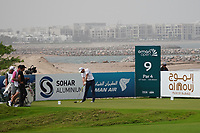 Oliver Wilson (ENG) on the 9th during Round 1 of the Oman Open 2020 at the Al Mouj Golf Club, Muscat, Oman . 27/02/2020<br /> Picture: Golffile   Thos Caffrey<br /> <br /> <br /> All photo usage must carry mandatory copyright credit (© Golffile   Thos Caffrey)