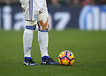 Chelsea's David Luiz's heavy straping on both legs during the Premier League match at Selhurst Park Stadium, London. Picture date December 17th, 2016 Pic David Klein/Sportimage