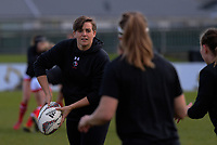 Canada warms up for the 2017 International Women's Rugby Series rugby match between England Roses and Canada at Rugby Park in Christchurch, New Zealand on Tuesday, 13 June 2017. Photo: Dave Lintott / lintottphoto.co.nz