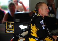 Jul. 3, 2008; Daytona Beach, FL, USA; NASCAR Sprint Cup Series driver Mark Martin during practice for the Coke Zero 400 at Daytona International Speedway. Mandatory Credit: Mark J. Rebilas-