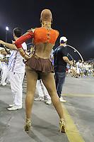 SÃO PAULO,SP,02.02.2019 - CARNAVAL-SP - Valeska Reis no ensaio Técnico Geral da escola de samba Império de Casa Verde, no sambódromo do Anhembi localizado na zona norte de São Paulo na noite deste sábado, 02. (Foto:Nelson Gariba /Brazil Photo Press)