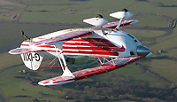 BNPS.co.uk (01202 558833)<br /> Pic: WilliamHosie/BNPS<br /> <br /> Daredevil commercial pilot William Hosie once flew upside down across the English channel in a Pitts Special for a charity fundraiser.<br /> <br /> British pilot William Hosie is attempting to build a working replica of the historic S.5 Schneider trophy seaplane, 33 years after his father was killed in an identical aircraft.<br /> <br /> William Hosie, 58, needs to raise £275,000 to construct a unique Supermarine S.5 from scratch, using the original blueprints of the famous aircraft designed by R.J.Mitchelll in the 1920's.<br /> <br /> The project has an added poignancy as his father, Bill Hosie, perished aged 57 flying an identical S.5 replica he'd built over Mylor, Cornwall, in May 1987.<br /> <br /> Once complete, William hopes to fly the unique seaplane at airshows as a reminder of Britain's proud history from the pioneering days of aircraft and as a tribute to his late father.<br /> <br /> The Supermarine S.5 won the prestigious Schneider Trophy in Venice in 1927 with a speed of 281mph. If Will, from Taunton, Somerset, succeeds, his will be the only working Supermarine S5 in the world.