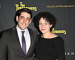 Evan Cabnet & wife attending the Broadway Opening Night Performance of 'The Performers' at the Longacre Theatre in New York City on 11/14/2012