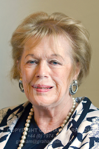 Dame (then Lady) Antonia Fraser at Blenheim Palace during the Woodstock Literary Festival, Woodstock, Oxfordshire, UK. 19 September 2010. Photograph copyright Graham Harrison.