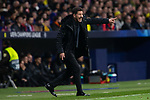 Diego Pablo Cholo Simeone during the match between Atletico de Madrid and Borussia Dortmund of UEFA Champions League 2018-2019, group A, date 4 played at the Wanda Metropolitano Stadium. Madrid, Spain, 6 NOV 2018.