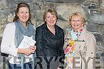 Enjoying the  Kerry Choral Union Summer Concert in Ardfert Cathedral on Sunday were Eileen Kirwin, Elizabeth Savage and Carmel Sheehan, Ardfert