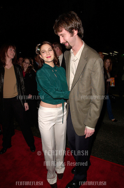 Actress DREW BARRYMORE & actor boyfriend TOM GREEN at the world premiere of her new movie Charlie's Angels, at the Mann's Chinese Theatre in Hollywood..22OCT2000. © Paul Smith / Featureflash