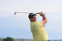 Gary Cullen (Castleknock) on the 15th tee during Round 3 of the East of Ireland Amateur Open Championship 2018 at Co. Louth Golf Club, Baltray, Co. Louth on Monday 4th June 2018.<br /> Picture:  Thos Caffrey / Golffile<br /> <br /> All photo usage must carry mandatory copyright credit (&copy; Golffile | Thos Caffrey