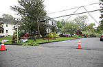 Storm Damage on Hewetson Road in Danville, New Jersey