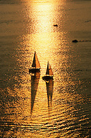 Aerial sailboats, Boston