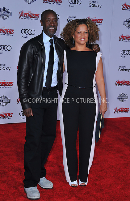 WWW.ACEPIXS.COM<br /> <br /> April 13 2015, LA<br /> <br /> Don Cheadle arriving at the Premiere Of Marvel's 'Avengers: Age Of Ultron' at the Dolby Theatre on April 13, 2015 in Hollywood, California.<br /> <br /> <br /> By Line: Peter West/ACE Pictures<br /> <br /> <br /> ACE Pictures, Inc.<br /> tel: 646 769 0430<br /> Email: info@acepixs.com<br /> www.acepixs.com