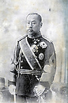 Undated - Prince Arisugawa Taruhito (1835-1895) was the command of the Imperial Army sent to against the last partisans of the Tokugawa bakufu in the Boshin War (1868-1869). Later he led the central government army against the forces of Saigo Takamori in the Satsuma Rebellion of 1877. (Photo by Kingendai Photo Library/AFLO)