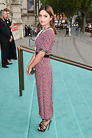 Jenna Coleman at the V&amp;A Summer Party at the Victoria and Albert Museum, London.<br /> June 22, 2016  London, UK<br /> Picture: Steve Vas / Featureflash