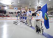 WINKLER, MB - Nov 7 2019: Alberta vs. Atlantic during the 2019 National Women's Under 18 Championship at the Centennial Arena in Winkler, Manitoba, Canada. (Photo by Matthew Murnaghan/Hockey Canada Images)