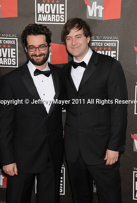 HOLLYWOOD, CA - January 14: Mark Duplass and Jay Duplass arrive at the 16th Annual Critics' Choice Movie Awards at the Hollywood Palladium on January 14, 2011 in Hollywood, California.