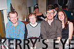 Tim, Nora and Paul Crowley and Leila Fazal Castleisland enjoying New Years Eve in Lord Kenmares restaurant Killarney