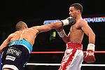 Karim Mayfield mantuvo su invicto con una espectacular victoria por nocaut técnicoen cinco rounds ante Raymond Tito Serrano en Viernes de Combates