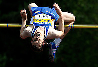 Photo: Richard Lane/Richard Lane Photography..Aviva World Trials & UK Championships athletics. 11/07/2009. Brian Hall in the men's high jump.