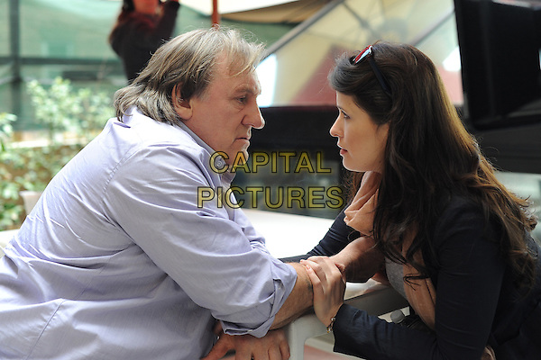 Gerard Depardieu, Marie Moute<br /> in Welcome to New York (2014) <br /> *Filmstill - Editorial Use Only*<br /> CAP/FB<br /> Image supplied by Capital Pictures