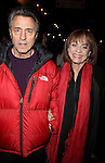 """Valerie Harper & husband Tony<br /> arriving for the Opening Night performance of <br /> """" 33 VARIATIONS """"  at the Eugene O'Neill Theatre in New York City.<br /> March 9, 2009"""