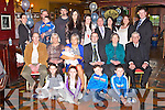 BABY JOY: Proud parents Elenor and Roy Bowler, Causeway (seated centre) of little Shea who was Christened by Fr O'Mahony at St Bernard's Church, Abbeydorney and celebrated afterwards with family and friends at the Meadowlands hotel, Tralee on Saturday.