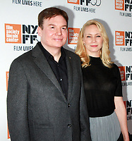 NEW YORK, NY October 05, 2017Mike Myers, Kelly Tisdale attend  55th New York Film Festival present World Premiere of HBO's Spielberg at Alice Tully Hall in New York October 05,  2017.<br /> CAP/MPI/RW<br /> &copy;RW/MPI/Capital Pictures