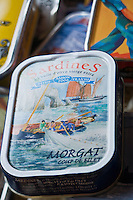 Europe/France/Bretagne/29/Finistère/Douarnenez: Boites de sardines à la boutique Penn sardin