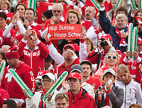 14-09-12, Netherlands, Amsterdam, Tennis, Daviscup Netherlands-Swiss,  Swiss Supporters