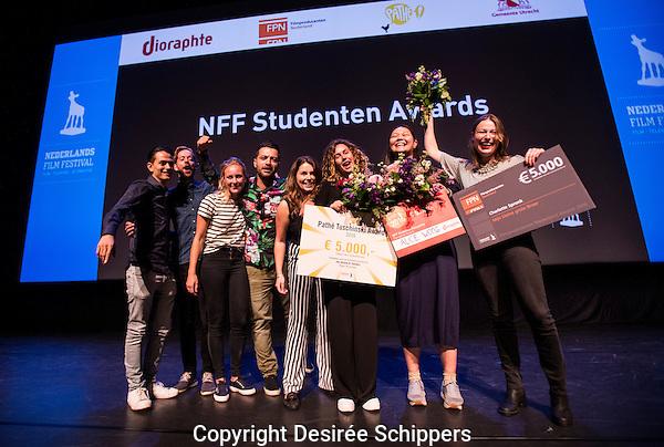 UTRECHT - NFF. Uitreiking Student Awards. FOTO DESIREE SCHIPPERS
