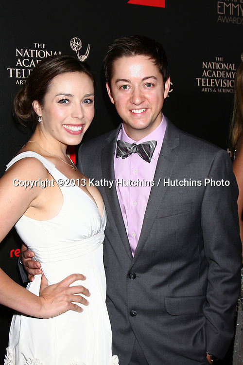 LOS ANGELES - JUN 16:  Bradford Anderson arrives at the 40th Daytime Emmy Awards at the Skirball Cultural Center on June 16, 2013 in Los Angeles, CA