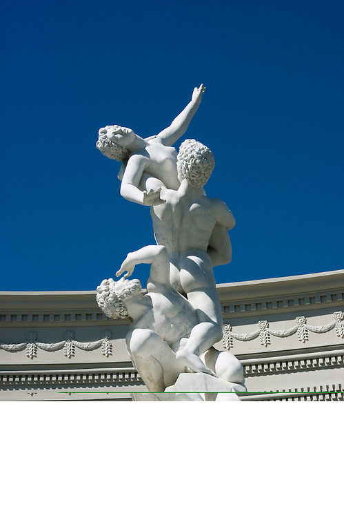 A statue at Caesars in Las Vegas, Nevada, NV, Las Vegas, city, statues at entrance of Caesars Palace and Casino, sunny, Photo nv292-17360..Copyright: Lee Foster, www.fostertravel.com, 510-549-2202,lee@fostertravel.com