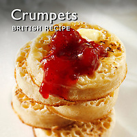 Crumpets |  Crumpets Recipe Food Pictures, Photos & Images