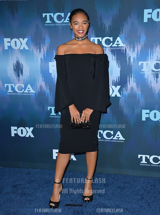 Chandler Kinney at the Fox Winter TCA 2017 All-Star Party at the Langham Huntington Hotel, Pasadena, USA 11th January  2017<br /> Picture: Paul Smith/Featureflash/SilverHub 0208 004 5359 sales@silverhubmedia.com