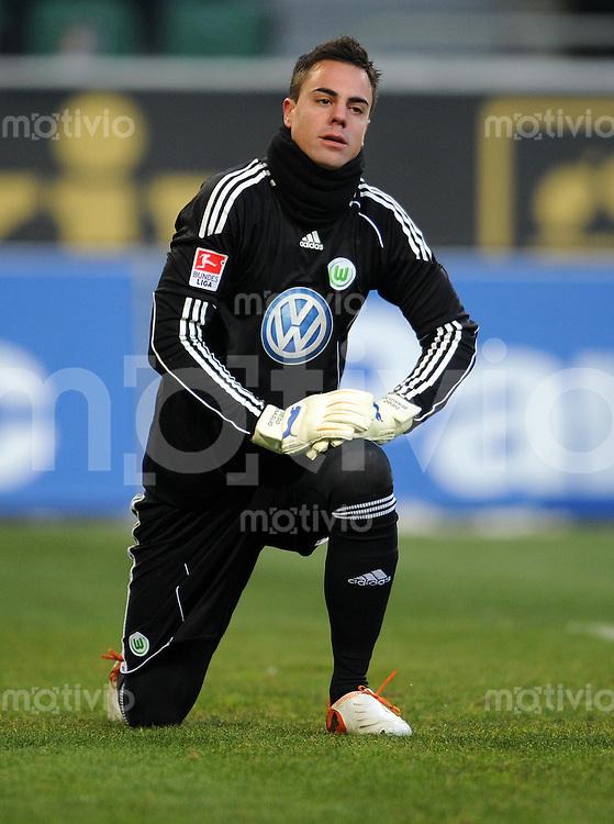FUSSBALL   1. BUNDESLIGA   SAISON 2010/2010   15. SPIELTAG VfL Wolfsburg - SV Werder Bremen                          04.12.2010 Diego BENAGLIO (VfL Wolfsburg)
