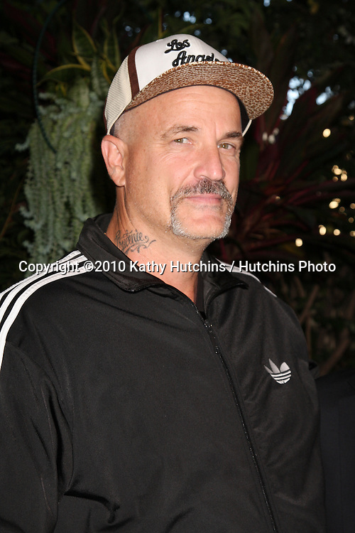 """LOS ANGELES - OCT 11:  Nick Cassavetes arrives at the 1st Global Creative Forum  """"Evening of Entertainment"""". at Four Seasons Hotel Beverly Hills on October 11, 2010 in Los Angeles, CA"""