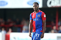 Lamar Reynolds of Dagenham and Redbridge during Dagenham & Redbridge vs Chesterfield, Vanarama National League Football at the Chigwell Construction Stadium on 15th September 2018