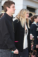 Jesse Wood &amp; Fearne Cotton at the opening night gala of The Rolling Stones' &quot;Exhibitionism&quot; at the Saatchi Gallery. <br /> April 4, 2016  London, UK<br /> Picture: James Smith / Featureflash